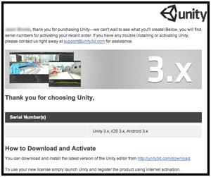 UnityRegistration