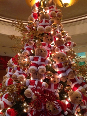 Christmas Bear Tree