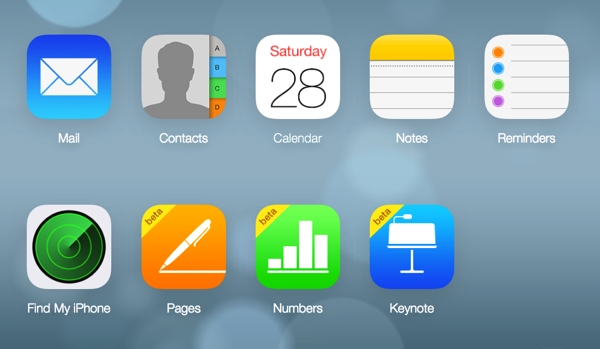 iCloud Web Image