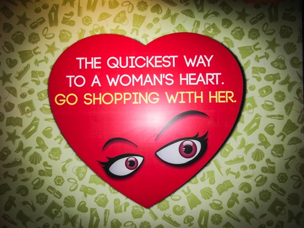 Quickest Way To A Womans Heart - Go Shopping!