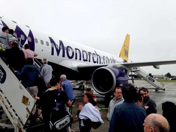 Boarding The Flight