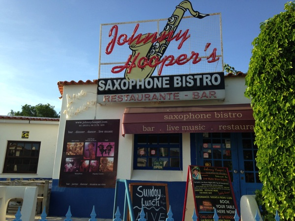 Johnny Hoopers Saxophone Bar