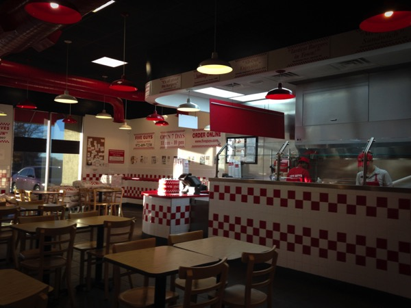 Five Guys Burger Place Las Colinas