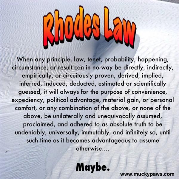 Rhodes Law