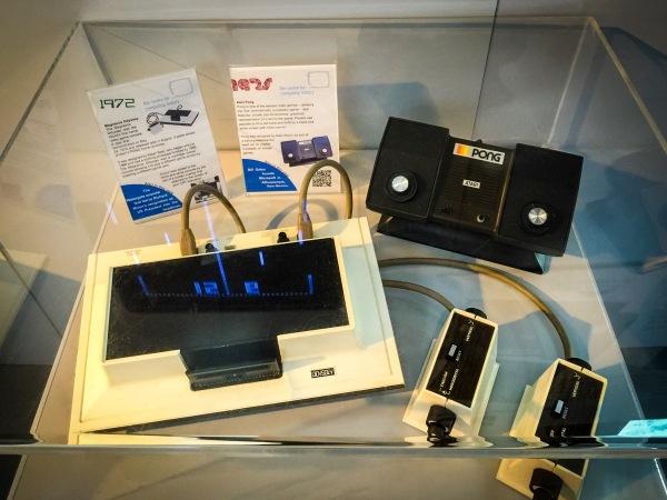 1972 Magnavox Odyssey and 1975 Atari PONG